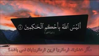 تلاوت قرآن باتصاویر وترجمه - بسیار زیبا
