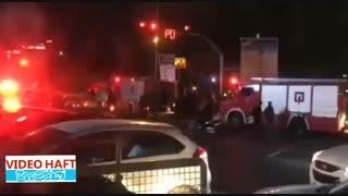 آتش سوزی در تئاتر شهر