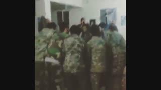جشن پتو برای فرمانده