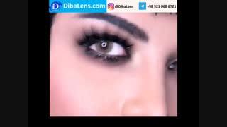 لنز دهب- کرمی| DibaLens.com-DHAB Creamy