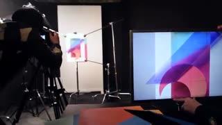 مراحل عکاسی  از  والپیپر موبایل LG G6