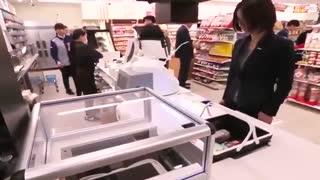تکنولوژی جدید سوپرمارکت های کشور ژاپن !