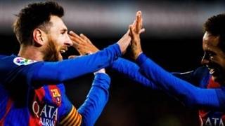 خلاصه بازی : بارسلونا 5 - 0 سلتاویگو (درخشش مسی)