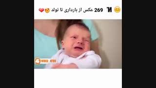 269 عکس از بارداری تا تولد