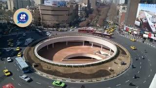 فیلم اختصاصی// ایوان انتظار میدان ولی عصر به زودی افتتاح می شود