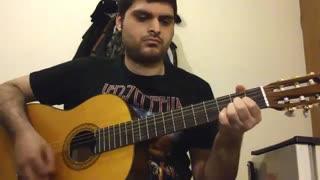رگ خواب از محسن یگانه با گیتار نت و تبلچر بهنام