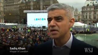 اکران عمومی فیلم فروشنده در میدان شهر لندن