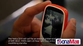 بازگشت Snake به موبایل ها - نوکیا 3310 جدید