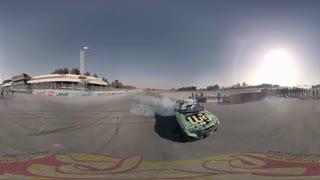 ویدیو 360 درجه : درگ زیبا در پیست استادیوم آزادی