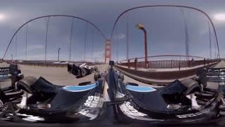 فیلم 360 درجه از اتومبیلرانی فرمول یک