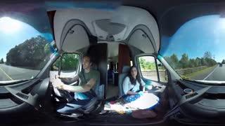 فیلم 360 درجه رانندگی در نیوزیلند