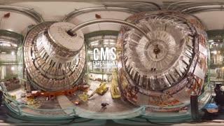 فیلم 360 درجه از برخورد دهنده هادرون