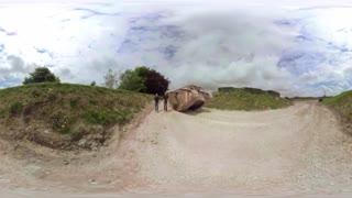 فیلم 360 درجه داخل تانک قدیمی