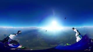 فیلم 360 درجه از پرش ارتفاع