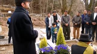 مراسم زیارت مزار اسلام شناس بزرگ ژاپنی