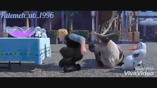 میکس فوقالعاده دیدنی از انیمیشن Frozen قسمت ۲ با اهنگ (Try every thing_shakira)