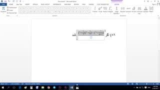 آموزش تایپ ریاضی در ورد (Word) - قسمت اول