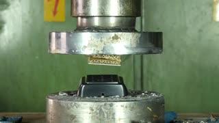چالش دستگاه پرس با سه نظام فولادی سخت