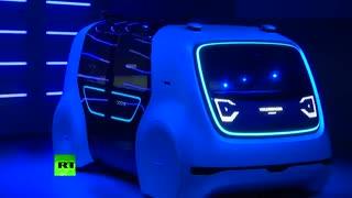 کانسپت خودروی خودران جدید شرکت فولکس واگن