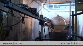 شستشوی مبدل حرارتی  با واترجت صنعتی