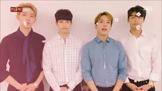 17.03.12 SBS Inkigayo.. - CNBLUE Message