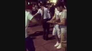 رقص و اهنگ ایرانی تو خیابون.......