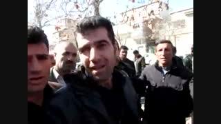 اعتراض به شهرداری مریوان بخاطر دفن زباله ها