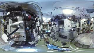 اولین ویدیوی 360 درجه جذاب از ایستگاه فضایی بین المللی