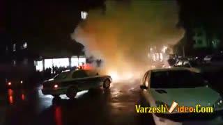 حمله به خودروی پلیس مشهدبانارنجک دستی