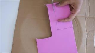ساخت قاب گوشی آیفون با فوم