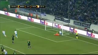 خلاصه بازی : مونشن گلادباخ 2 - 2 شالکه
