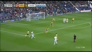 خلاصه بازی :  وست برومویچ 3 - 1 آرسنال