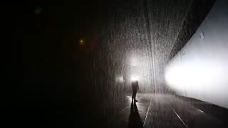 بارانی که خیس نمیکند !