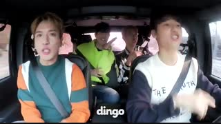 CNBLUE داخل ماشین و خوندن آهنگ جدیدشون  Between Us