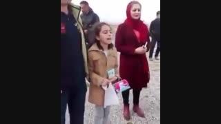 شعرخوانی دختر زیبای ایرانی در پاسارگاد- ۱ فروردین ۱۳۹۶