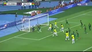خلاصه بازی :  کلمبیا 1 - 0  بولیوی