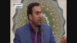"""حاج شهروز حبیبی"""" دشمن هرگز حریف هیبت رهبر نمیشود"""" مداحی آذری در حضور رهبری"""