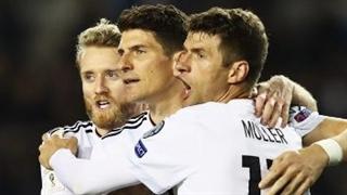خلاصه بازی : آذربایجان  1 - 4  آلمان