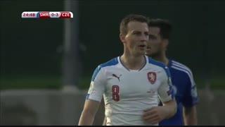 خلاصه : بازی سن مارینو  0 - 6  جمهوری چک