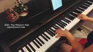 exo the winters tale.piano cover