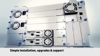آشنایی با استوریج HP StoreEver MSL6480 Tape Library
