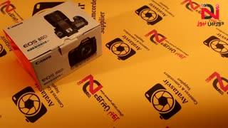 ویدئو معرفی و جعبه گشایی دوربین کانن ۸۰D-دوربین نیوز