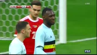 خلاصه بازی : روسیه 3 - 3 بلژیک