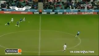 خلاصه بازی :  استونی  3 - 0  کرواسی