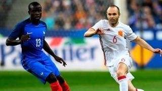 خلاصه بازی : فرانسه 0 -  2  اسپانیا