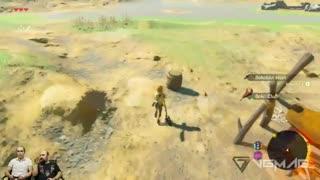 نیم ساعت – The Legend of Zelda Breath of the Wild