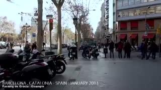 سفری زیبا به اسپانیا (بارسلونا)