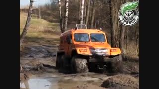 معرفی خودرو های ATV شرکت روسی Trekol