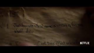 تریلر رسمی فیلم  «دفتر مرگ- Death Note» - سال 2017