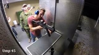 با پرداخت 1000 دلار شلیک با تمام سلاح ها
